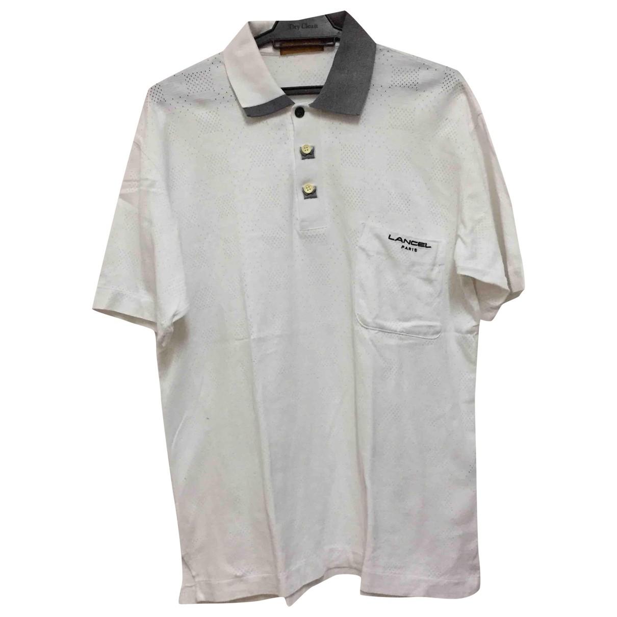 Lancel \N Poloshirts in  Weiss Baumwolle