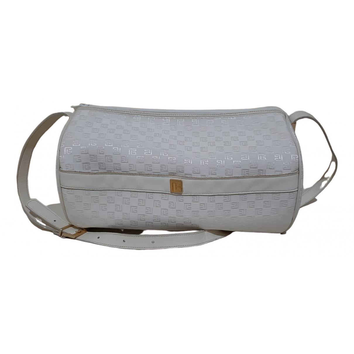 Pierre Balmain \N White Cloth handbag for Women \N