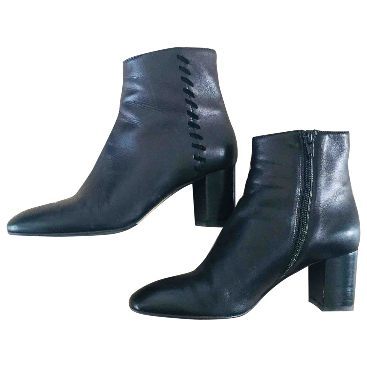 Hobbs \N Brown Leather Boots for Women 5 UK
