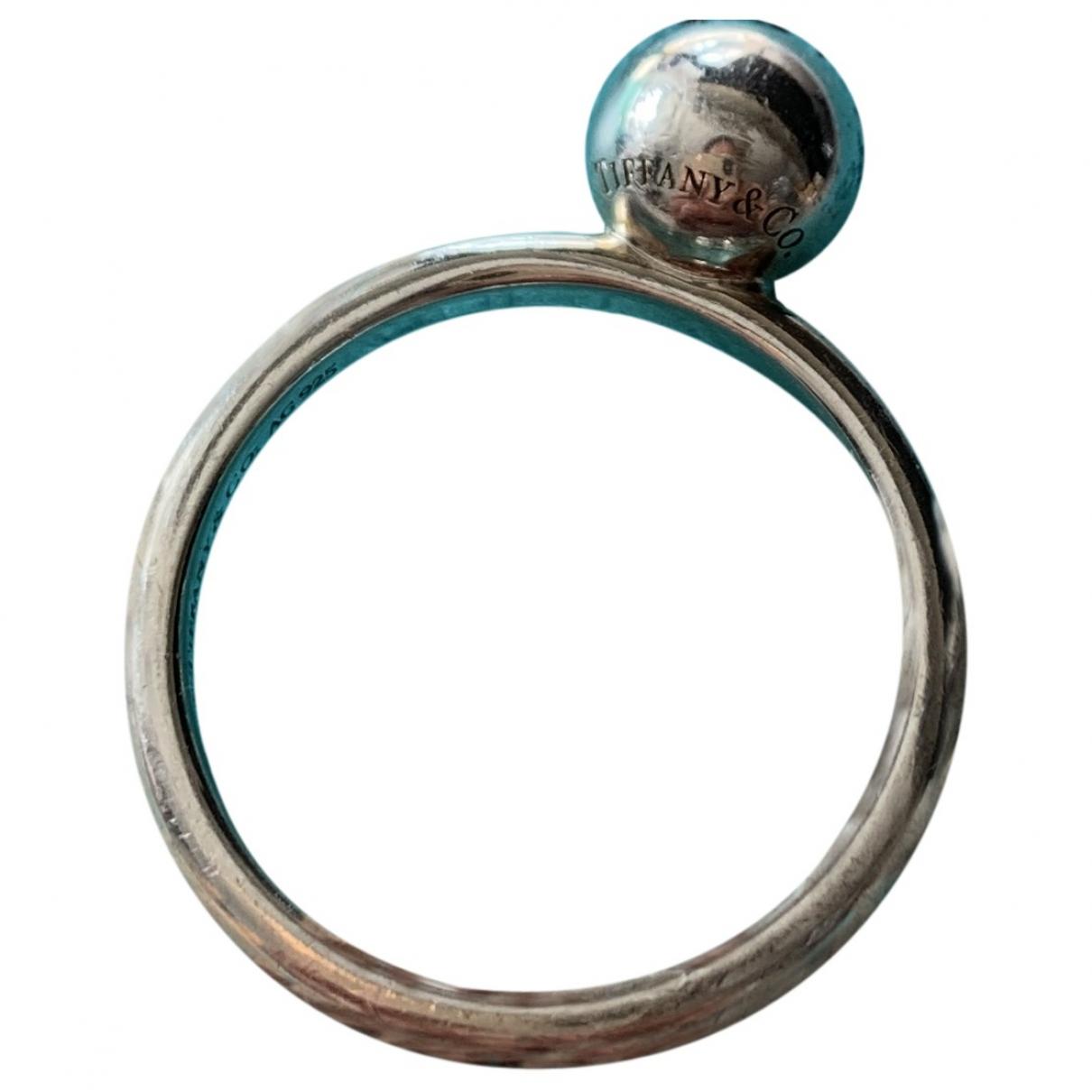 Tiffany & Co City HardWear Silver Silver ring for Women \N
