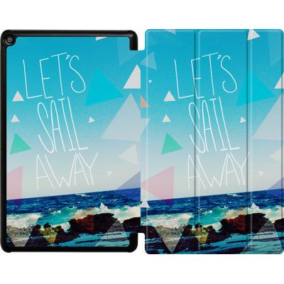 Amazon Fire HD 10 (2018) Tablet Smart Case - Lets Sail Away von Leah Flores