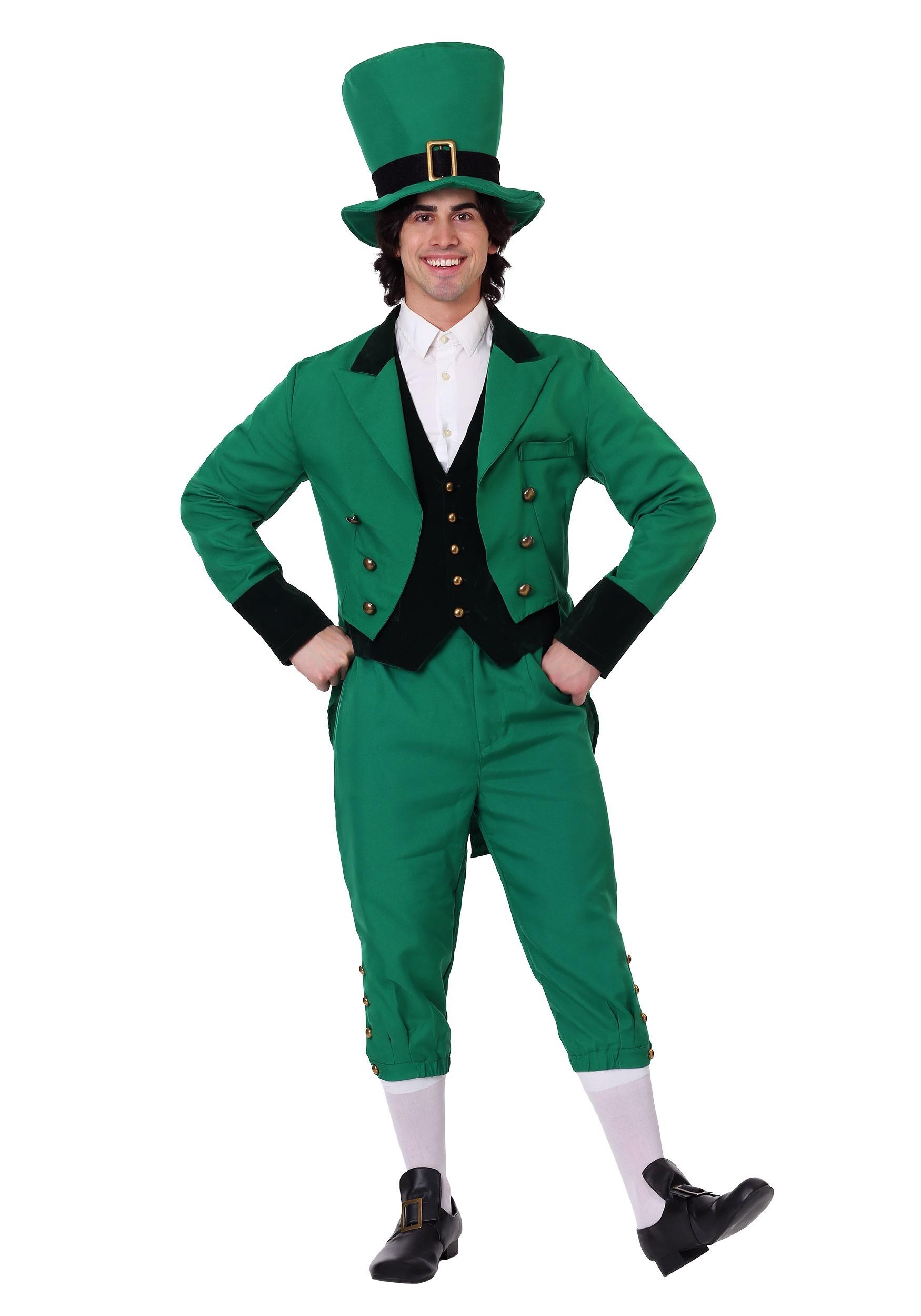Plus Size Leprechaun Costume