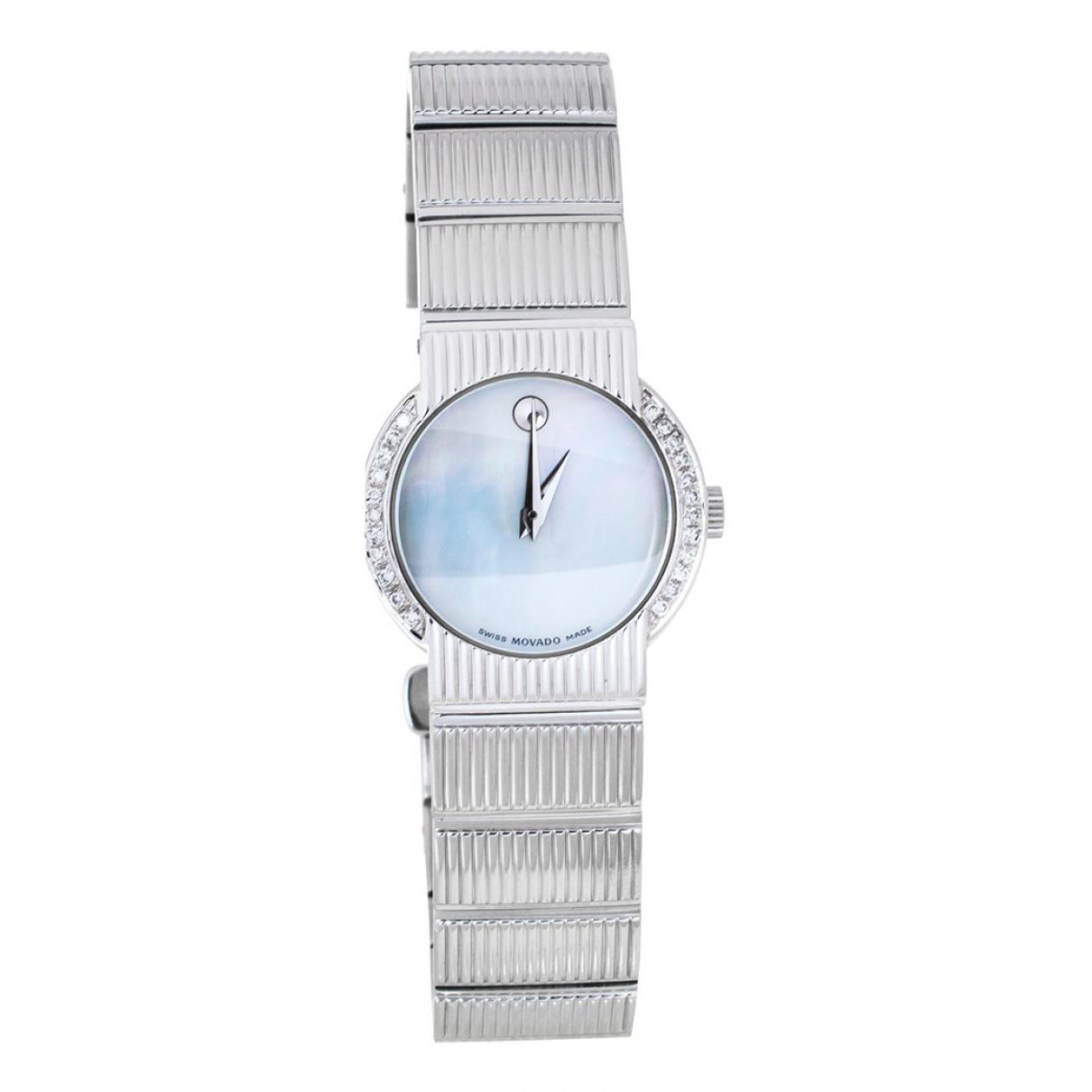 Movado \N Uhr Silber