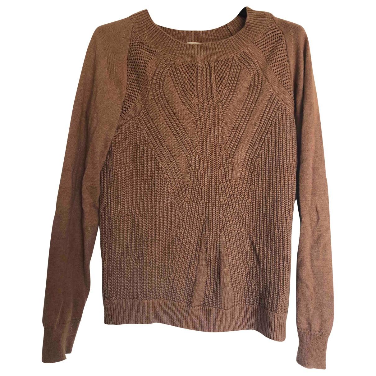 Vanessa Bruno Athe - Pull   pour femme en laine - marron
