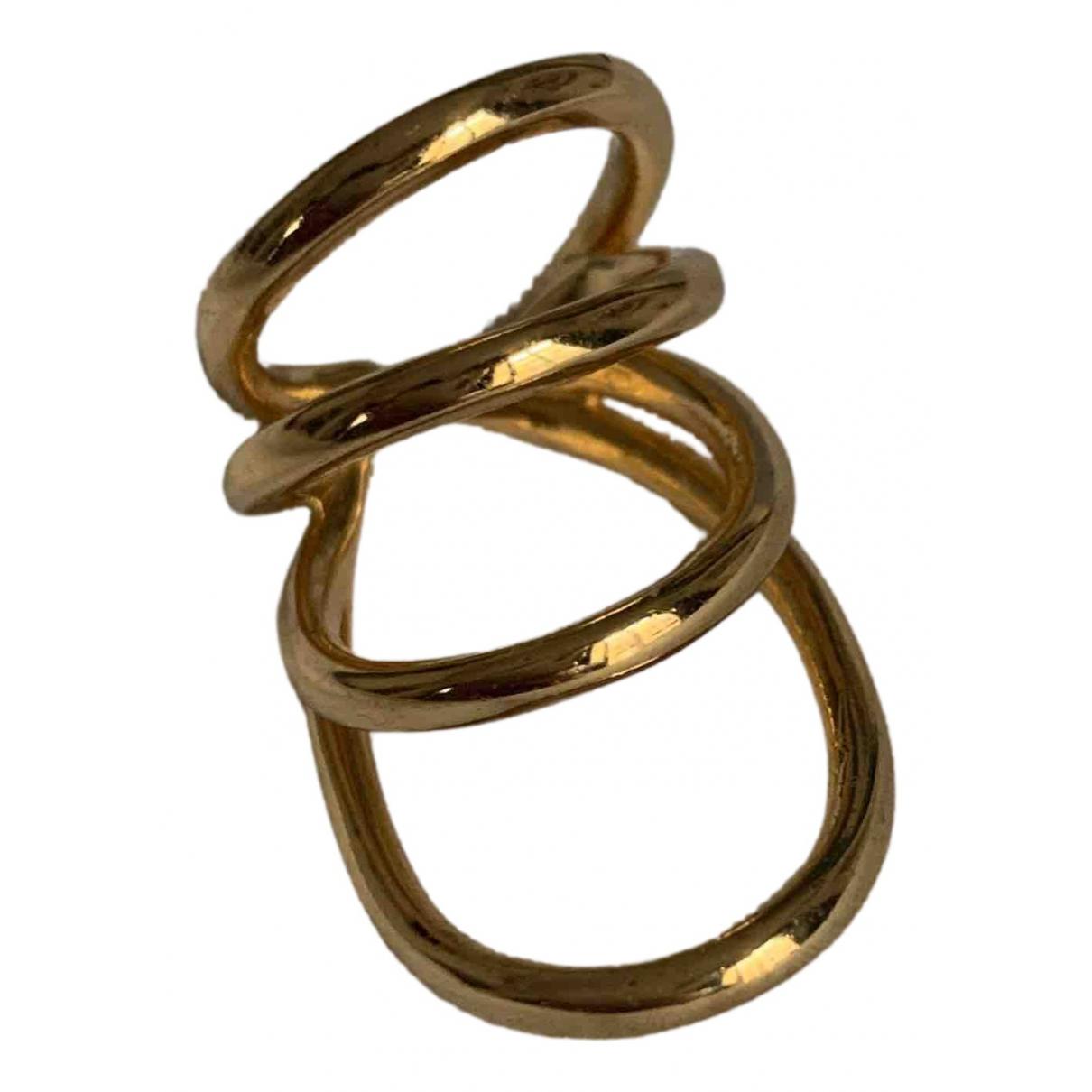 Jennifer Fisher - Bague   pour femme en plaque or - dore
