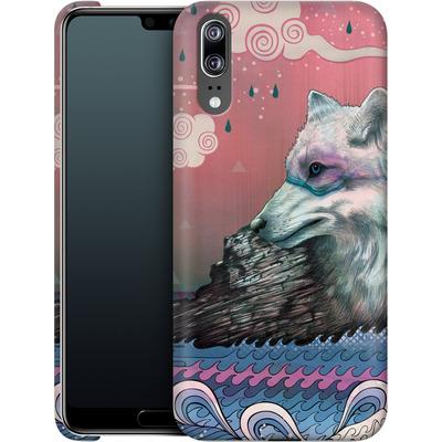 Huawei P20 Smartphone Huelle - Lone Wolf von Mat Miller