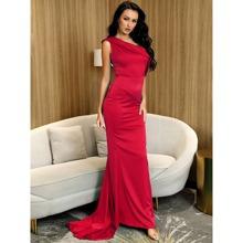 Reissverschluss  Einfarbig Glamouros Kleider