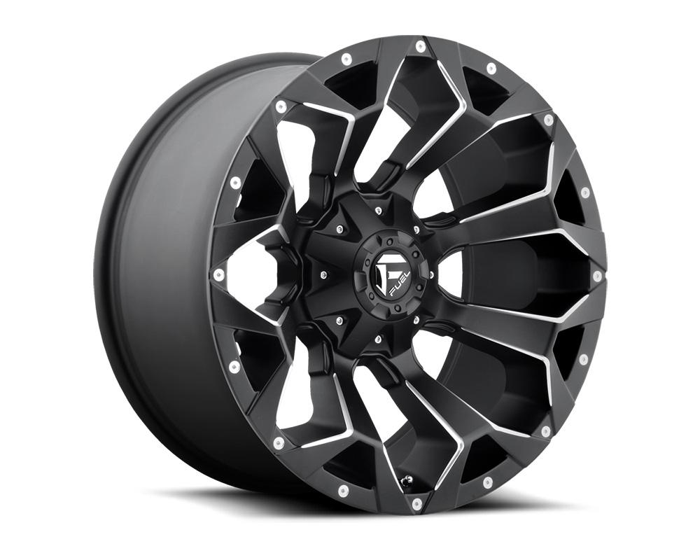 Fuel D546 Assault Black & Milled 1-Piece Cast Wheel 17x9 5x114.3|5x127 -12mm