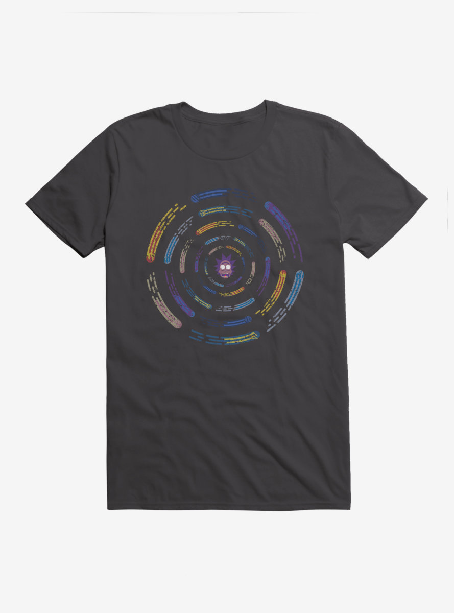 Rick And Morty Rick Comets T-Shirt