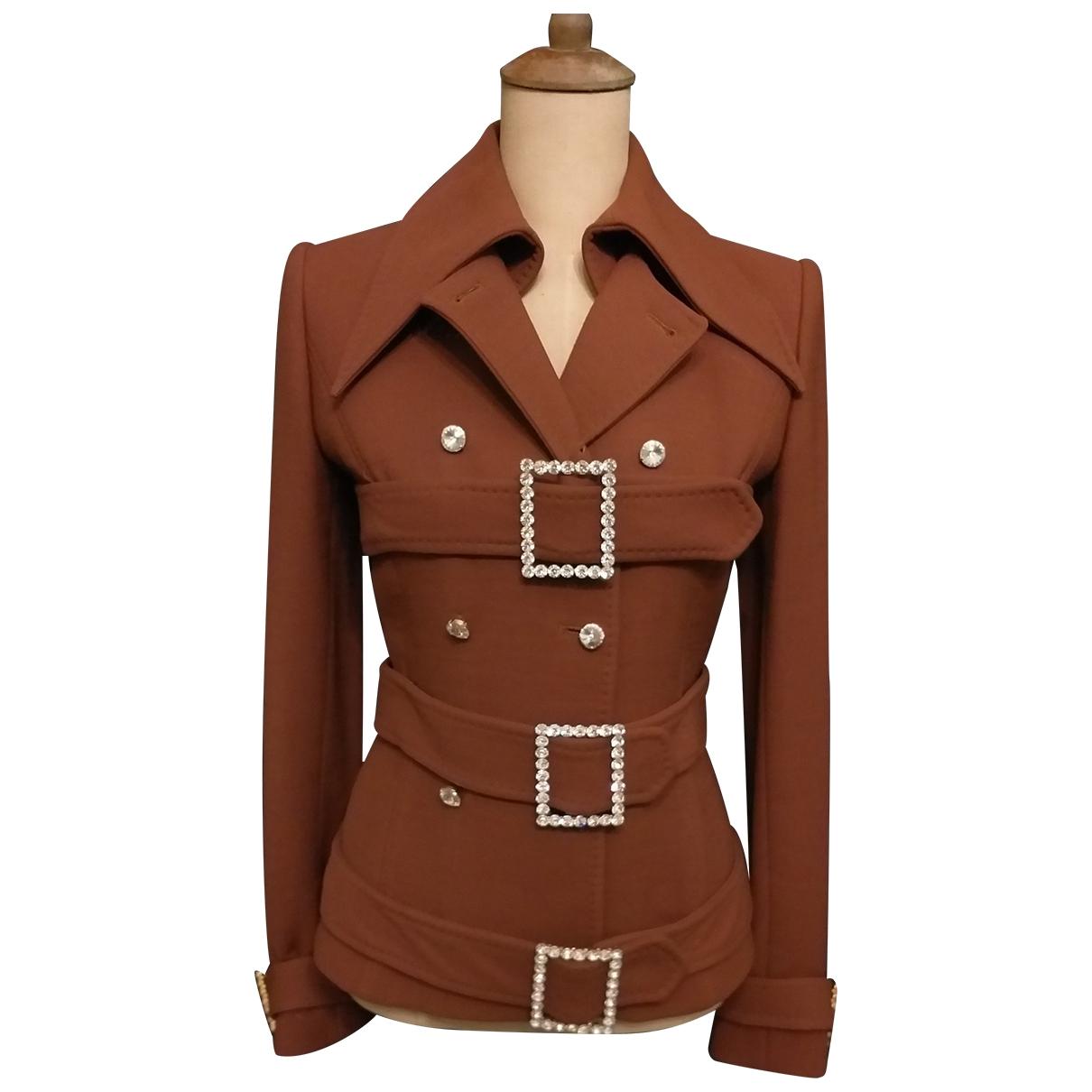 Dolce & Gabbana \N Brown Wool jacket for Women 40 IT