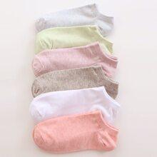 6 pares calcetines tobilleros