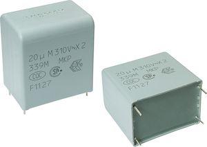 Vishay 1μF Polypropylene Capacitor PP 305 V ac, 630 V dc ±20% Tolerance Through Hole F339X2 Series (100)