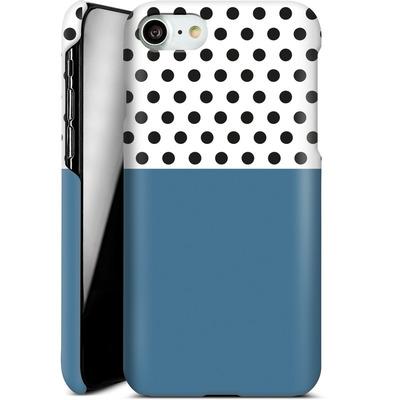 Apple iPhone 8 Smartphone Huelle - Blue Dots von caseable Designs