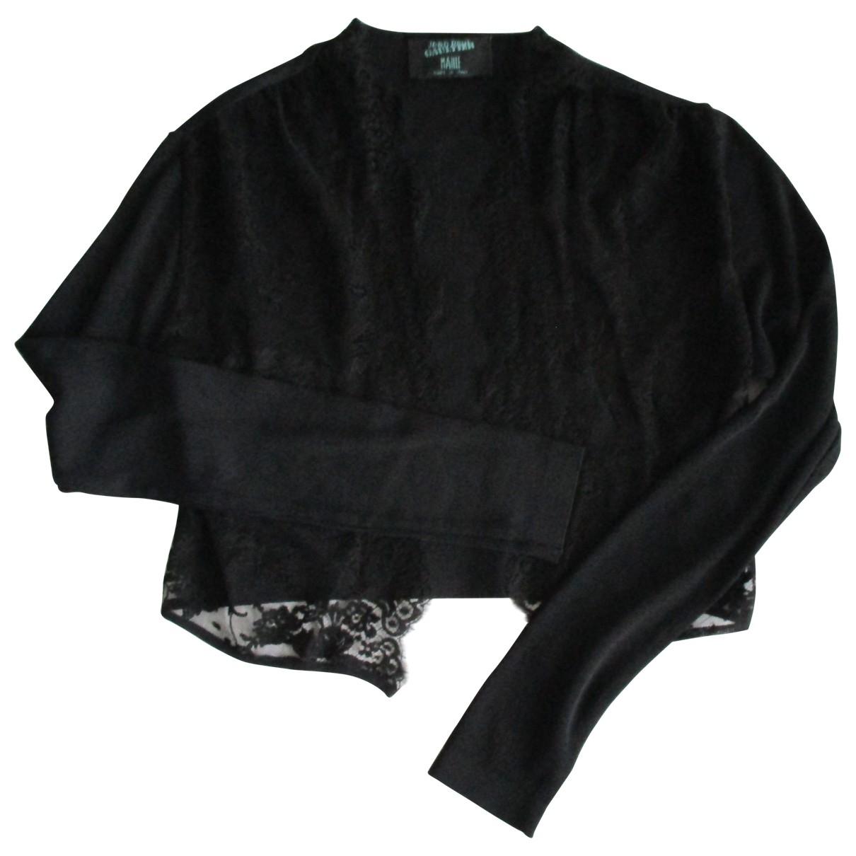 Jean Paul Gaultier \N Black jacket for Women 46 IT