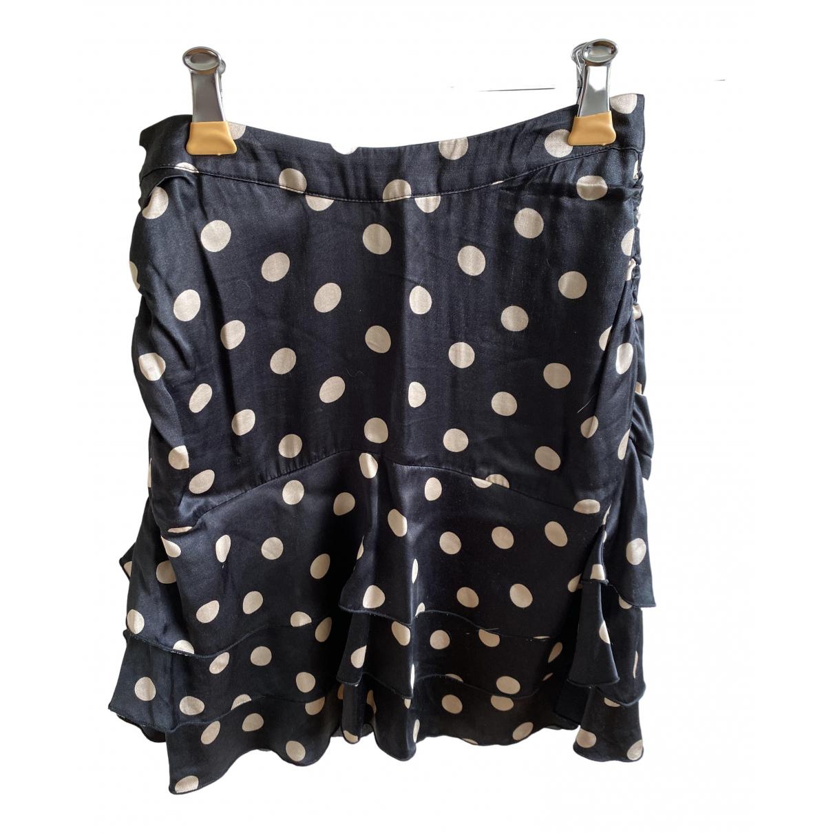 The Kooples \N Black Silk skirt for Women S International