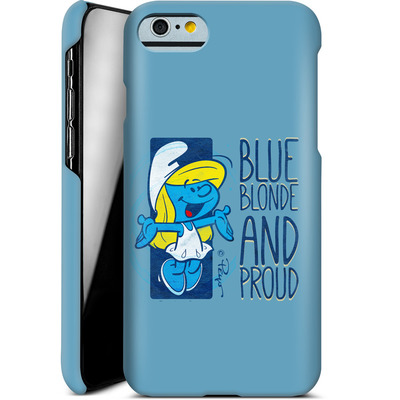 Apple iPhone 6s Smartphone Huelle - Blue, Blond and Proud von The Smurfs