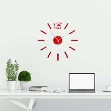 Plain Mirror Surface Wall Clock