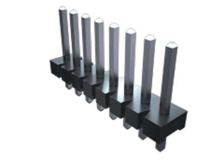 Samtec , FWJ, 2 Way, 1 Row, Vertical PCB Header