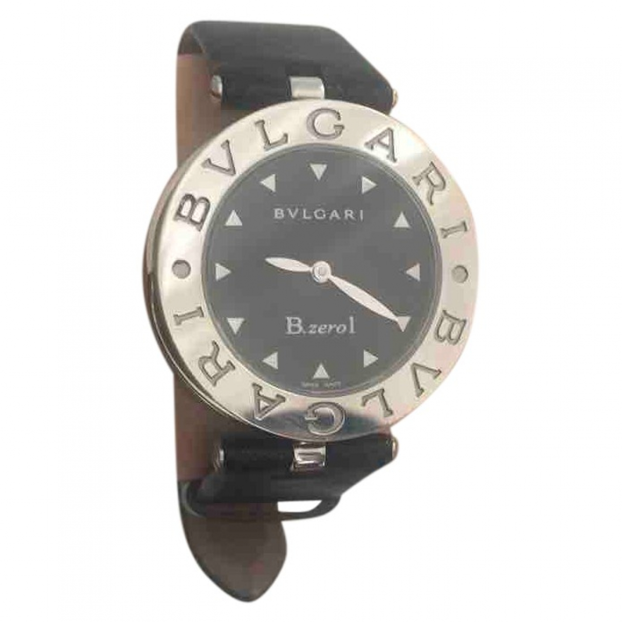 Bvlgari - Montre B.Zero1 pour femme en acier - noir