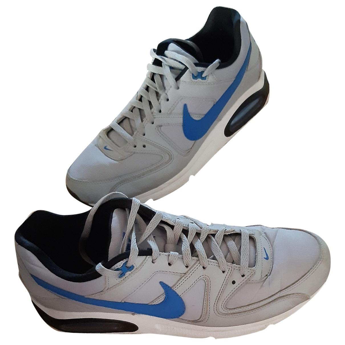 Nike - Baskets Air Max  pour homme en cuir - gris