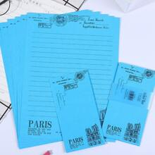 3pcs Envelope & 6pcs Writing Paper
