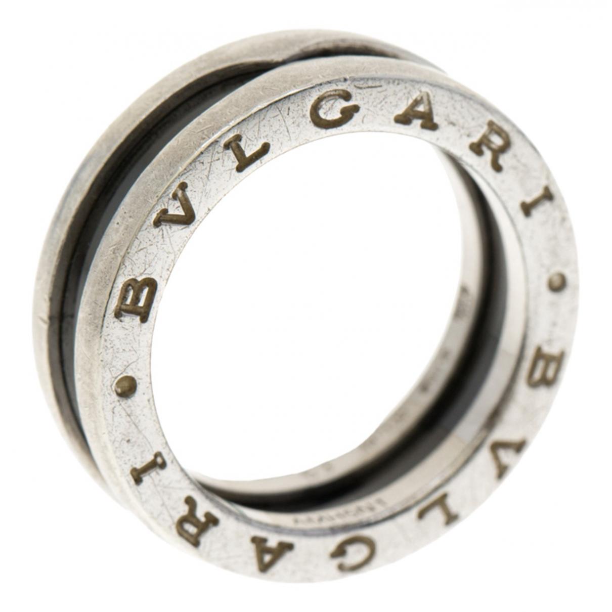 Bvlgari - Bague   pour femme en ceramique - argente