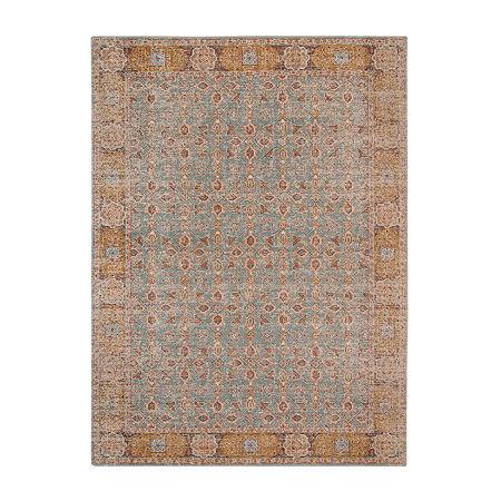 Eternal 1 Rectangular Indoor Rugs, One Size , Green