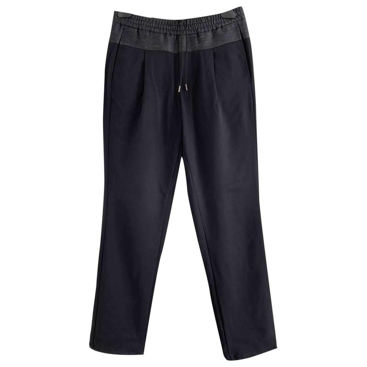 Emporio Armani - Pantalon   pour homme en laine - bleu