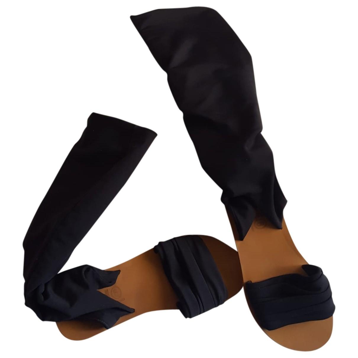 Sandalias de Lona Mm6