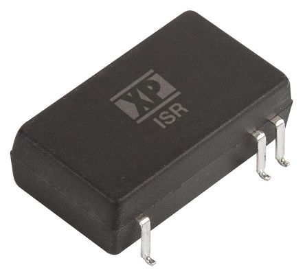 XP Power ISR 3W Isolated DC-DC Converter Surface Mount, Voltage in 36 → 75 V dc, Voltage out 15V dc