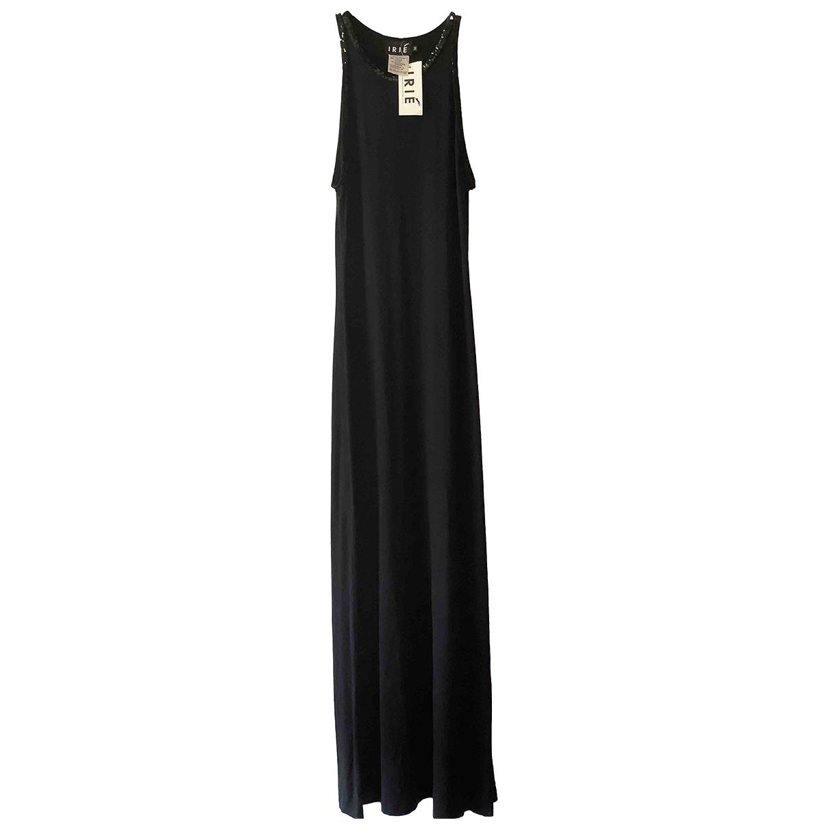 Irie \N Kleid in  Schwarz Viskose