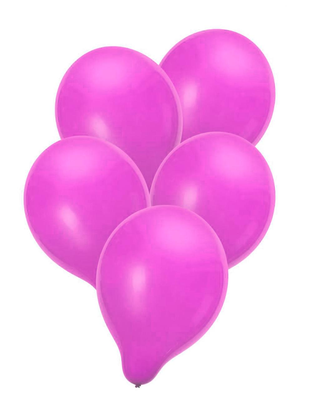 Luftballons pink 50 Stk.