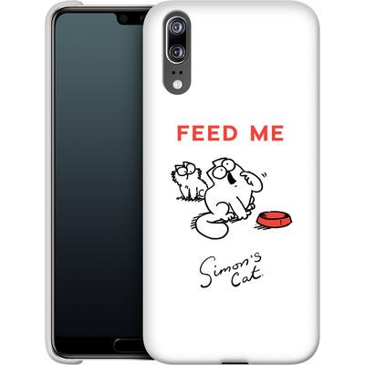 Huawei P20 Smartphone Huelle - Feed Me von Simons Cat