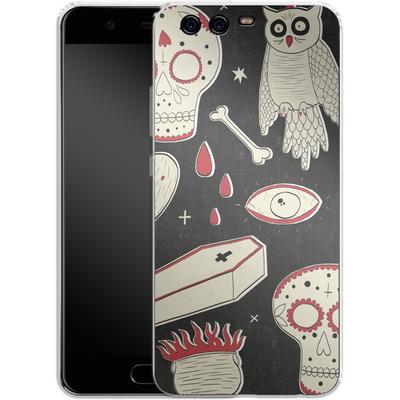 Huawei P10 Silikon Handyhuelle - Halloween Essentials von caseable Designs
