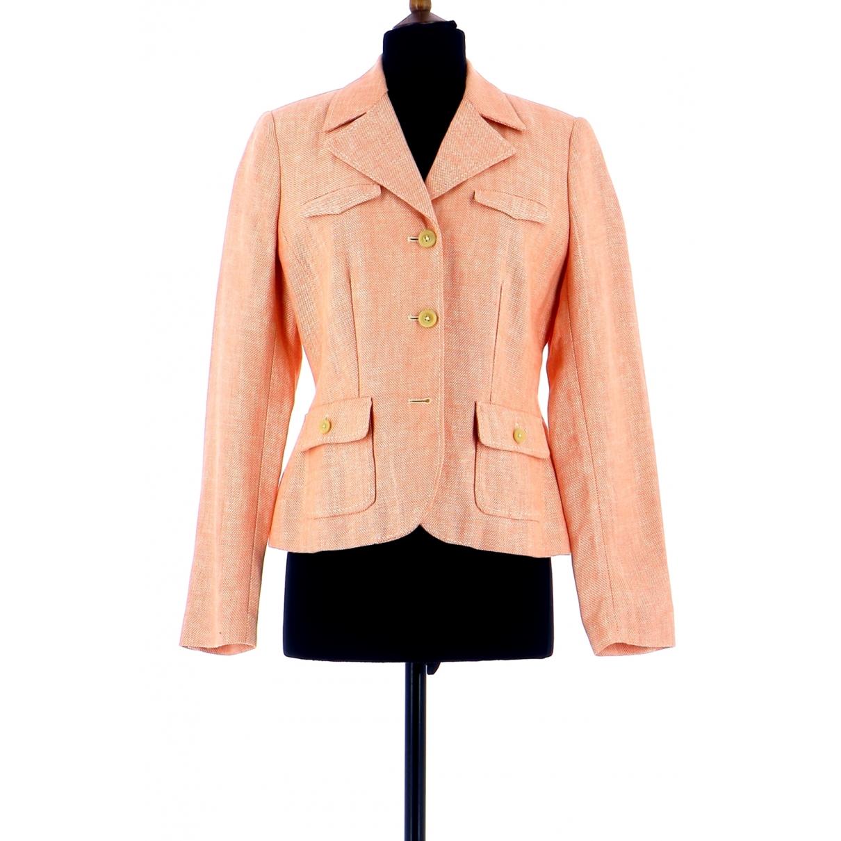 Tommy Hilfiger \N Pink Linen jacket for Women 36 FR