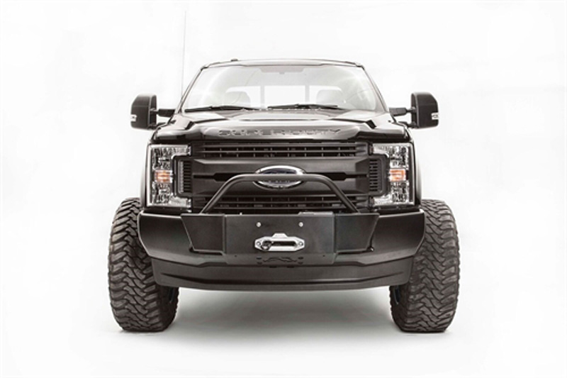 Fab Fours CC15-H3351-B 15-20 Chevrolet Colorado Front Winch Bumper w/No Guard Bare