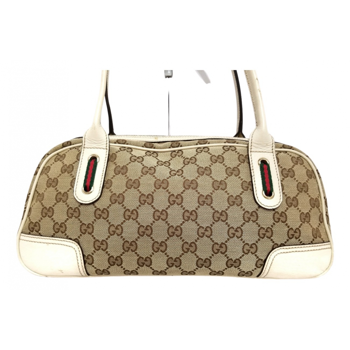 Gucci - Sac a main   pour femme en toile - beige