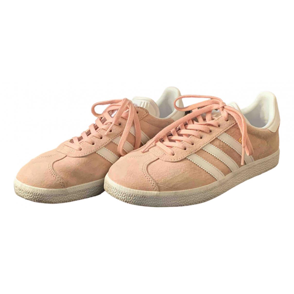 Adidas - Baskets Gazelle pour femme en suede - rose