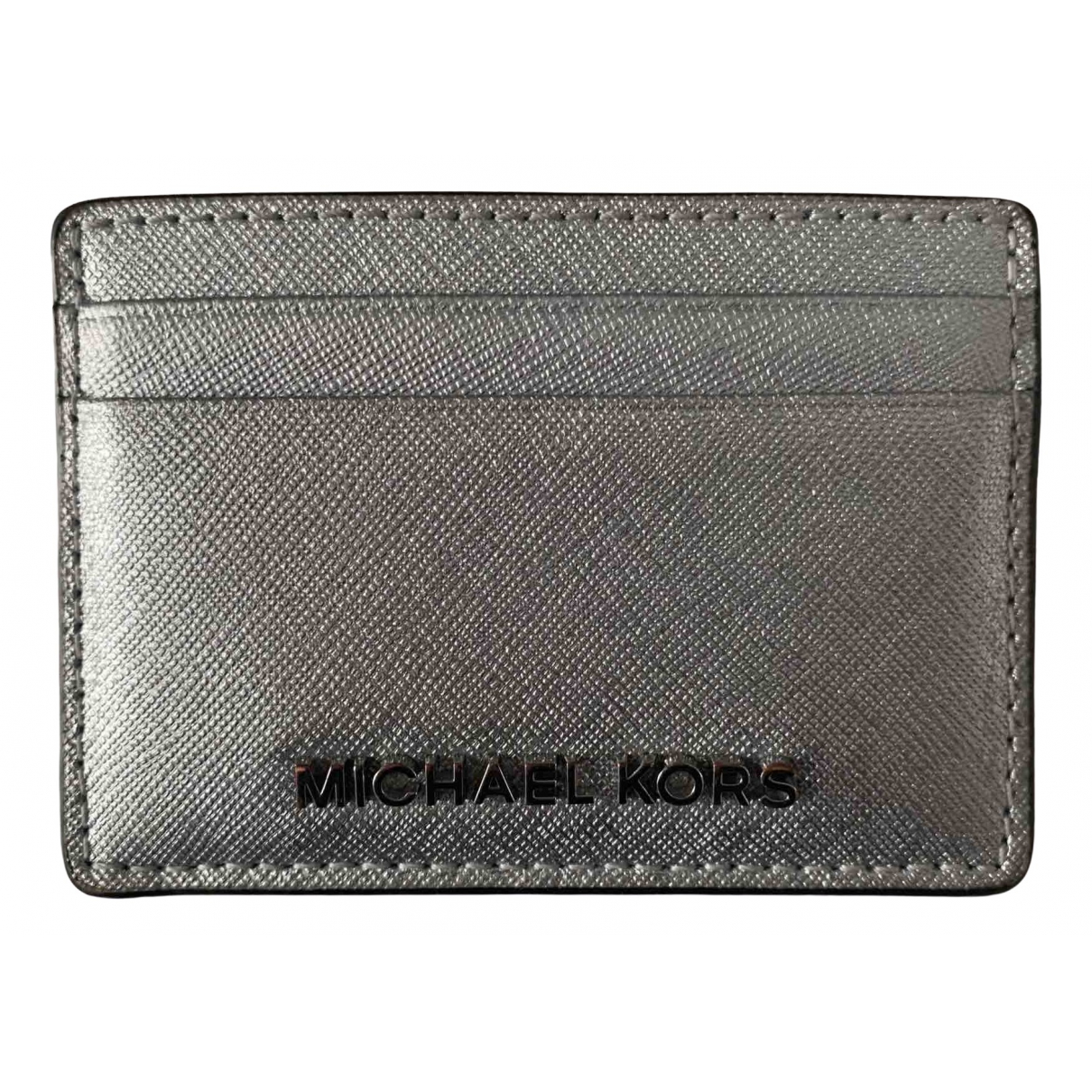 Michael Kors \N Silver Leather Purses, wallet & cases for Women \N