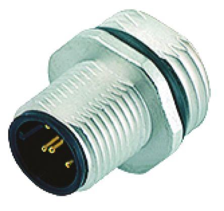 Binder Connector, 5 contacts Panel Mount Socket, Solder IP68
