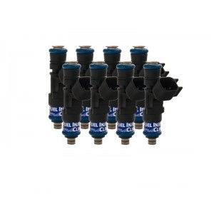 Fuel Injector Clinic IS304-0445H 445cc (50 lbs/hr at OE 58 PSI fuel pressure) Injector Set (High-Z)