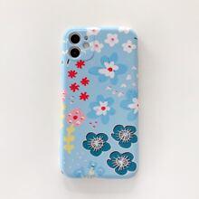 1pc Flower Pattern iPhone Case