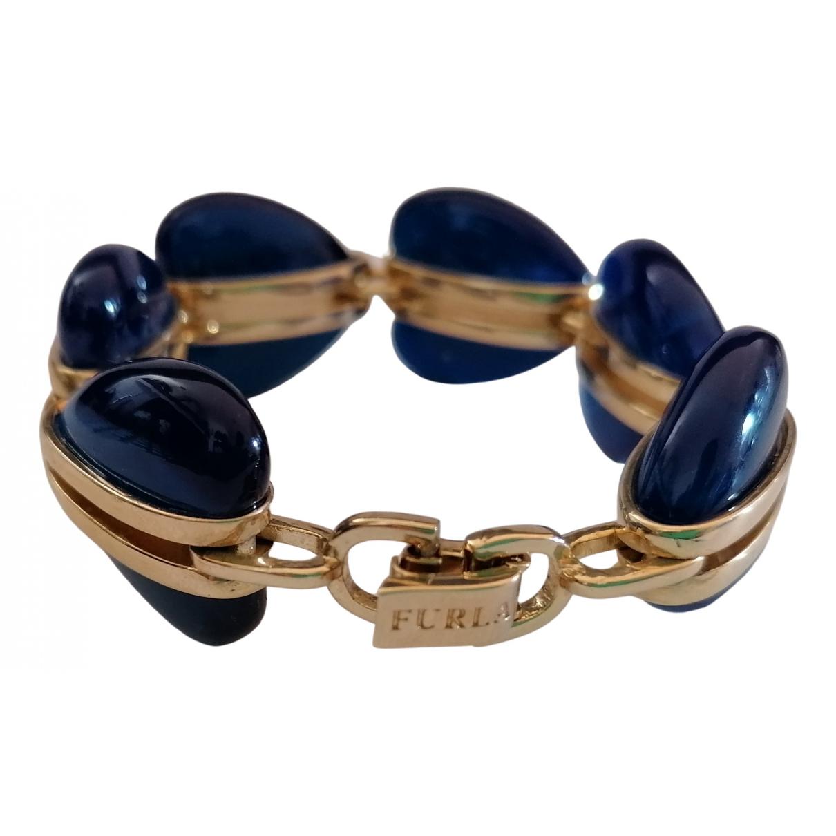 Furla \N Armband in  Gold Metall