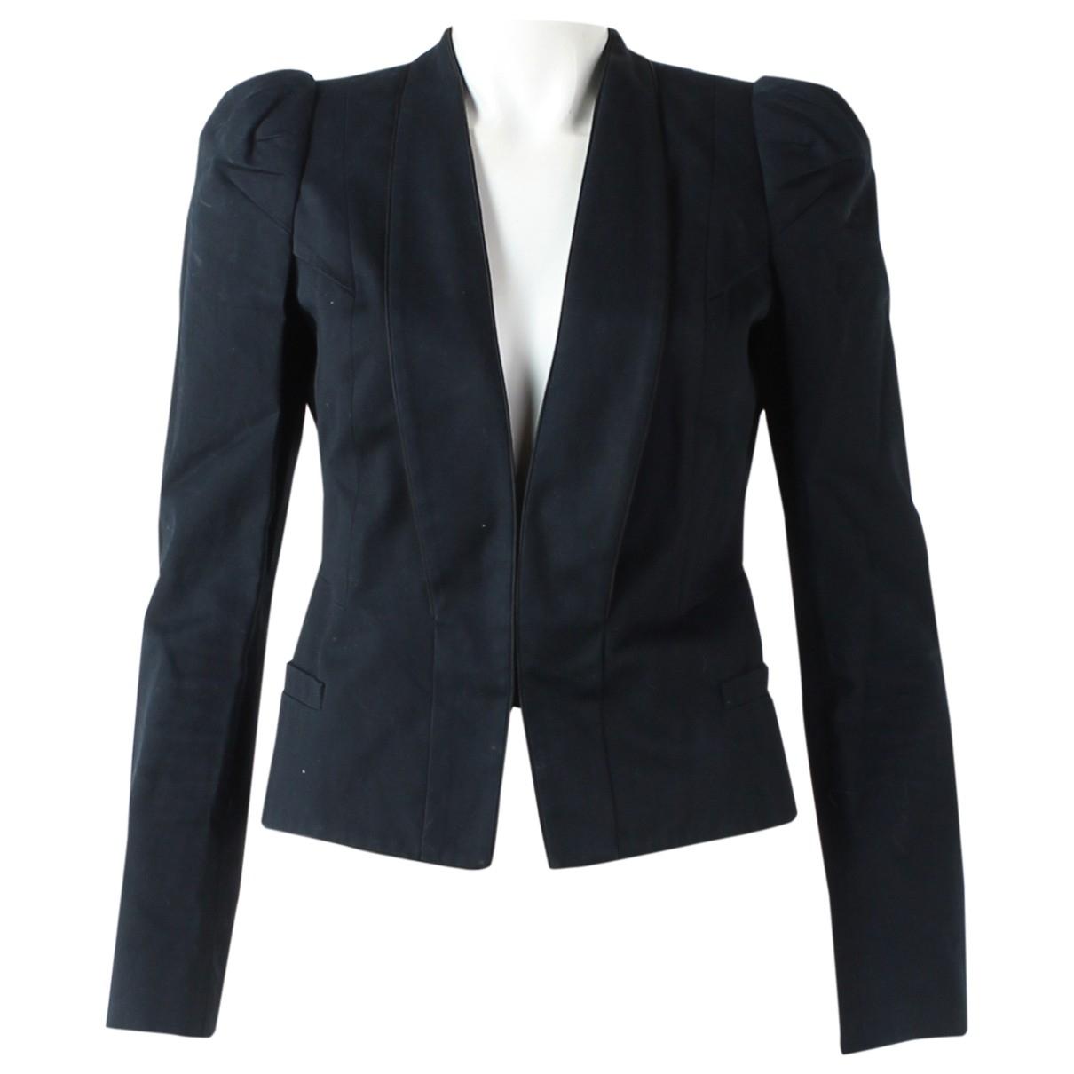 Givenchy - Veste   pour femme en coton - noir