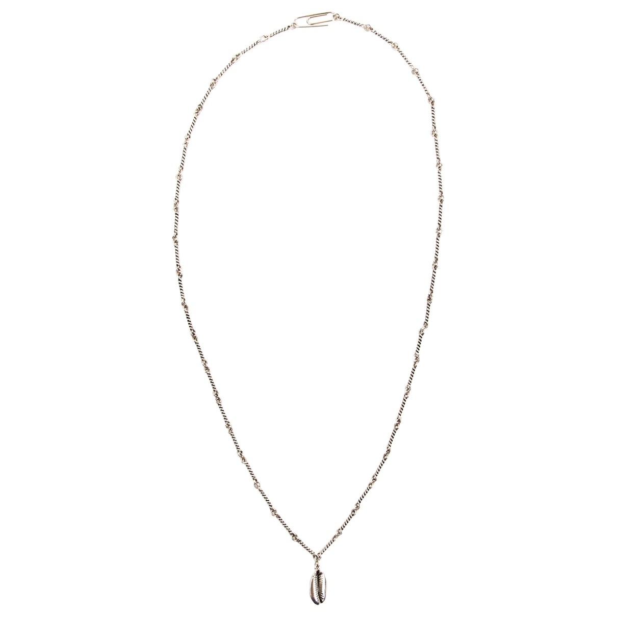 - Sautoir Motifs Coquillages pour femme en metal - argente