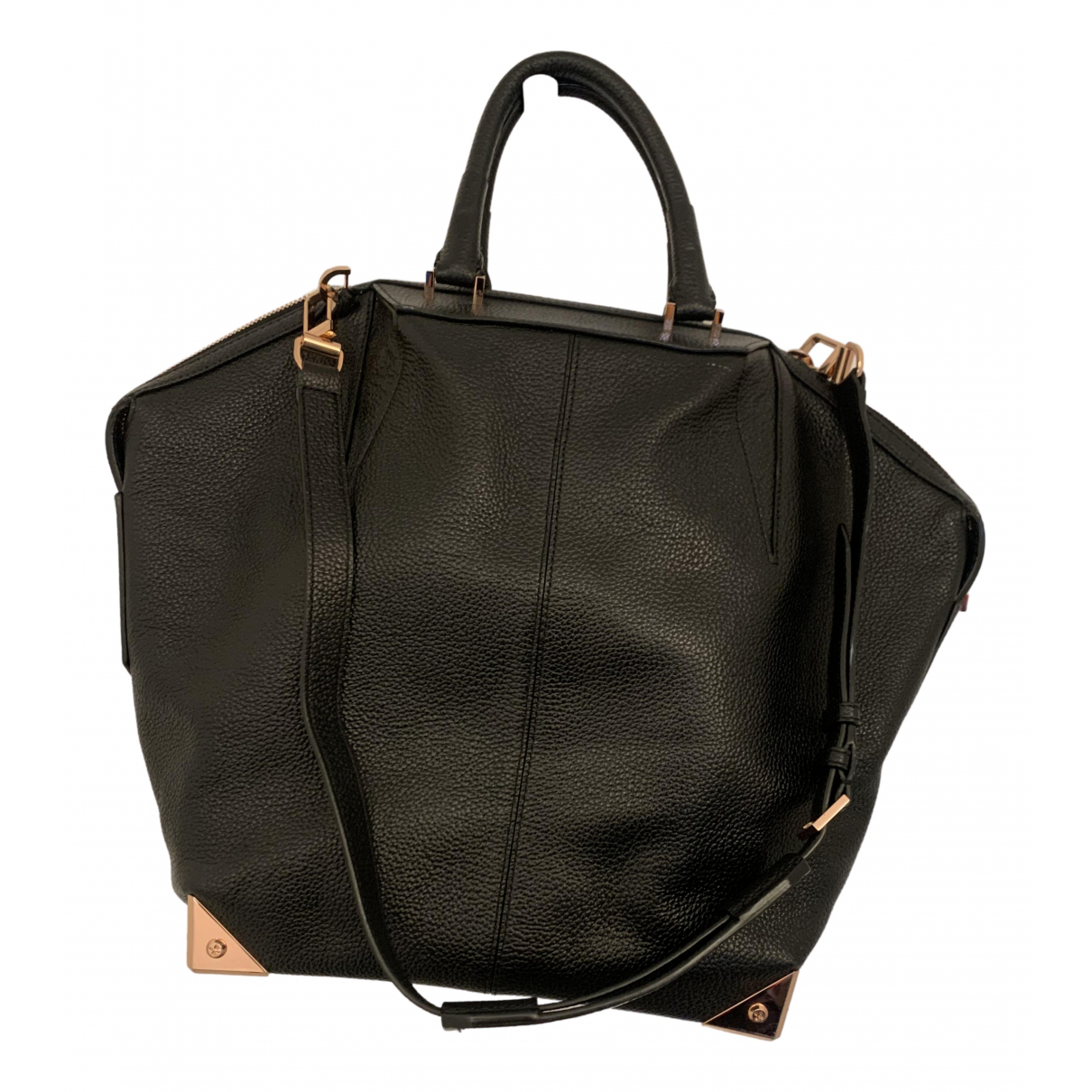 Alexander Wang Emile Black Leather handbag for Women N