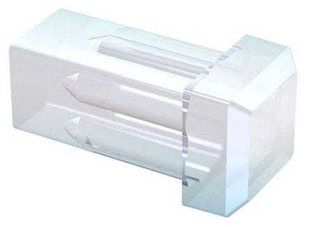Mentor GmbH 1282.2600 MENTOR, Panel Mount LED Light Pipe, Clear Square Lens (10)
