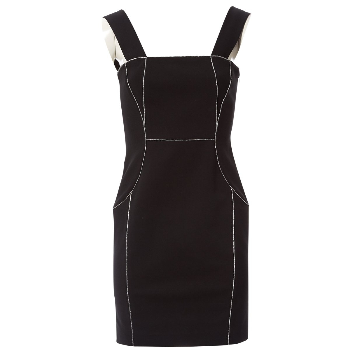 Ports 1961 \N Black Cotton - elasthane dress for Women 4 US