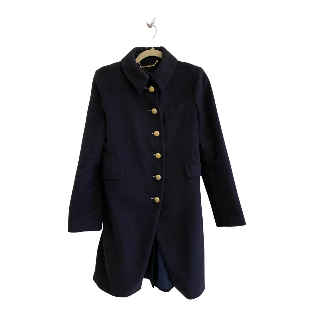 Marc By Marc Jacobs N Navy Wool coat for Women 4 US