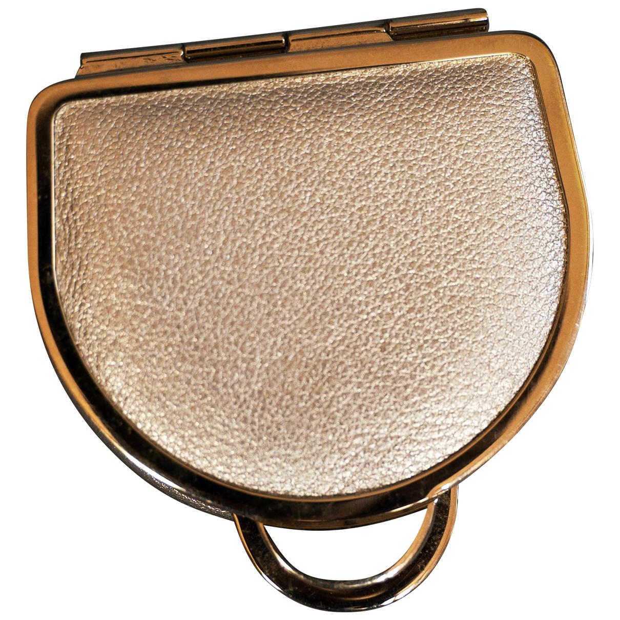 Sergio Rossi \N Kleinlederwaren in  Gold Leder